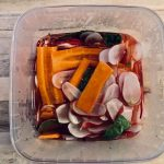 Syltede radiser og gulerøder